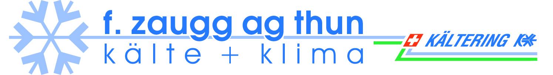 Logo F. Zaugg AG Kälte und Klima