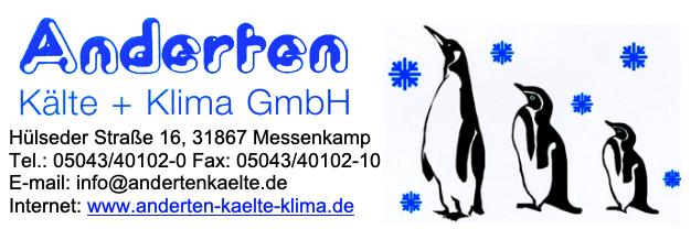 Logo Anderten Kälte + Klima GmbH